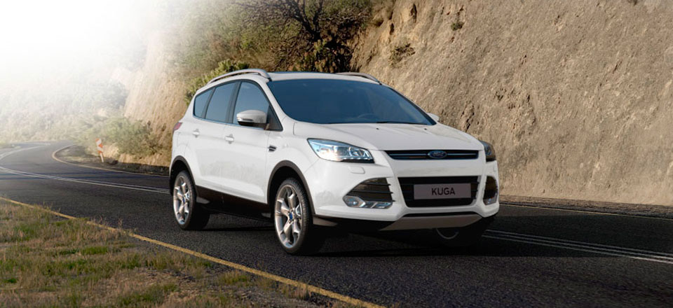 Kuga Frozen White